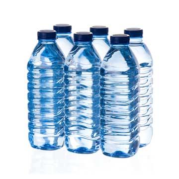 Water in flessen gem.