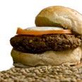 Groenteburger, vegetarisch