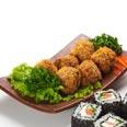 Tofuballetjes, vegetarisch